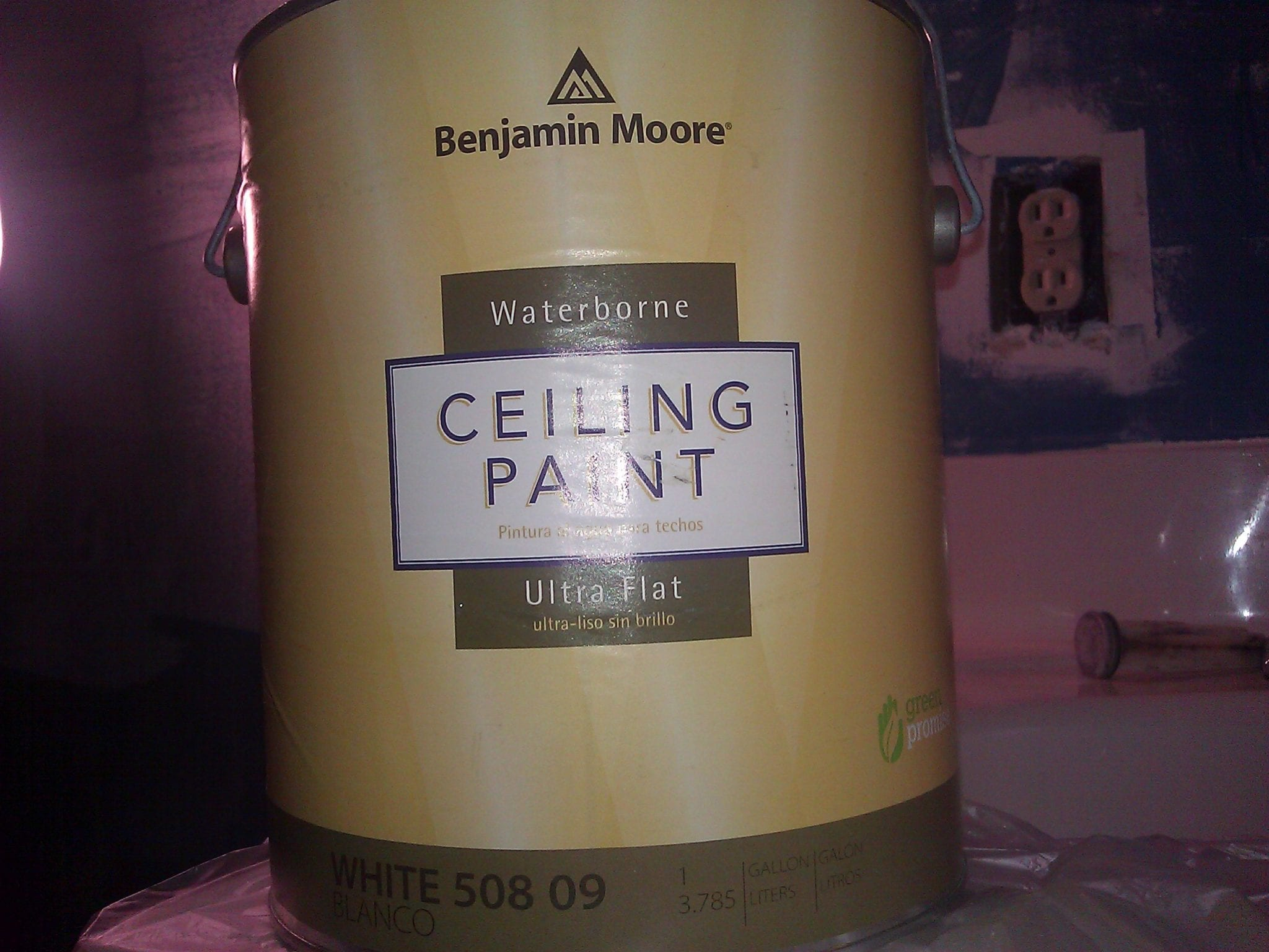 Benjamin Moore Ceiling Paint The Blogging Painters