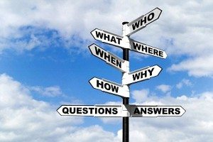 Are you asking questions or telling?
