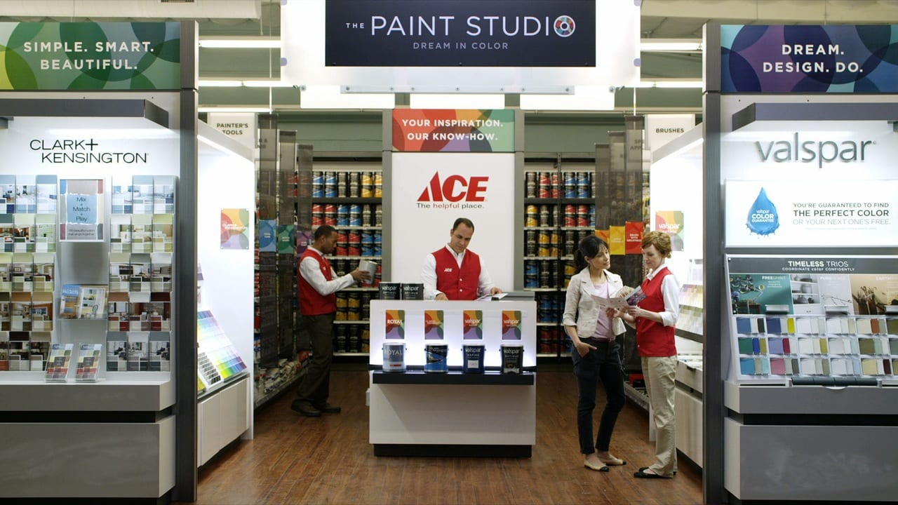 Ace Hardware And Valspar Paint Helpful Is Beautiful The Blogging Painters The Blogging Painters
