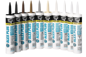 Improved ALEX PLUS® and ALEX FAST DRY® Caulk