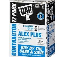 DAP ALEX PLUS All Purpose Acrylic Latex Caulk