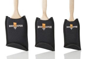 BRUSHAPER OFFERS NEW WAY TO STORE AND DRY PAINT BRUSHES